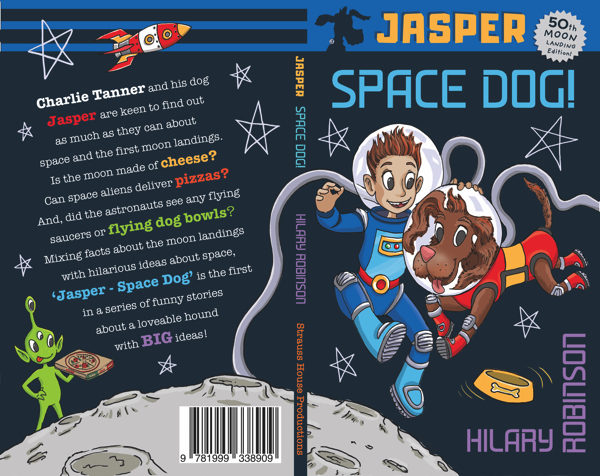 Cover of the Jasper Space Dog.