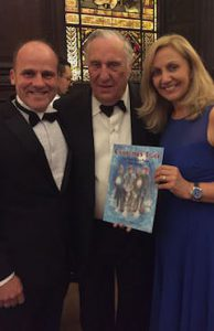 With Frederick Forsyth CBE at Stationer's Hall, London for People's Book Prize 2016