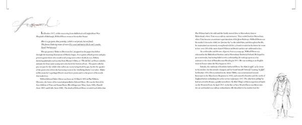 Page spread from Dulce et Decorum Est.